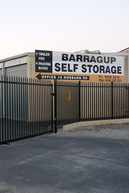 Contact Barragup Self Storage