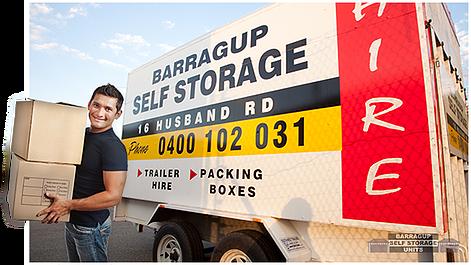 Barragup Self Storage Trailer Hire